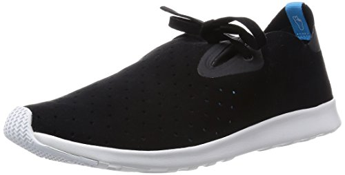 native SHOES Apollo Moc Schuhe Sneaker Sportschuhe Schwarz 21102400-1104 , Größenauswahl:35.5