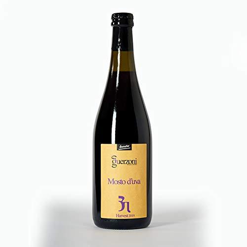 Mosto d'uva – Puro Succo di frutta - 100% Analcolico – Biologico, Biodinamico (Demeter), Vegano, Vegetariano, Senza OGM – Confezione da 3 bottiglie da 750 ml