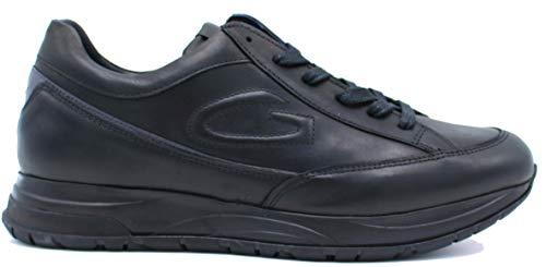 GUARDIANI Alberto Art.AGM004804 Sneaker Scarpa Sportiva Uomo in Pelle col Nero (Numeric_41)