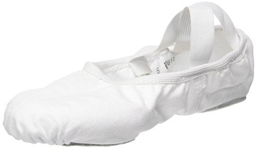 So Danca Damen Sd16 Riemchenballerinas, Weiß (White), 41 EU_Wide