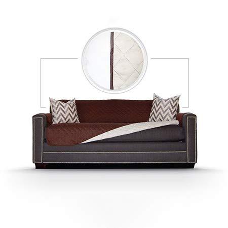 Sht Cubiertas Tramo Acolchado sofá-Cama for Perros Animales domésticos Antideslizante sofá reclinable Sillón Muebles Fundas Protector 1/2/3 plazas (Color : 3 Seat 180x245cm)