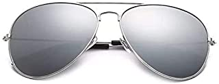 Rivers Bend Silver Aviator Sunglasses