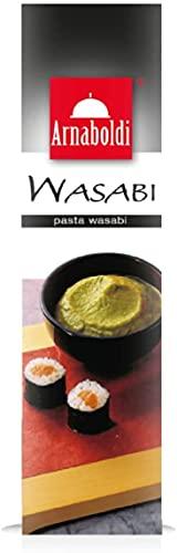 Arnaboldi Pasta Wasabi, Condimento per Sushi e Sashimi - [2 Confezioni da 43g]