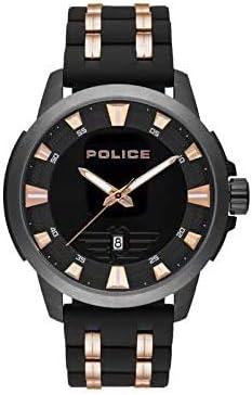 Reloj para hombre – Policía – Urban Style – Pulsera de silicona y acero – PL. 15653JSBU/02P