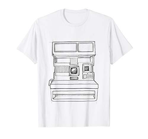 Sofortbildkamera Skizze T-Shirt