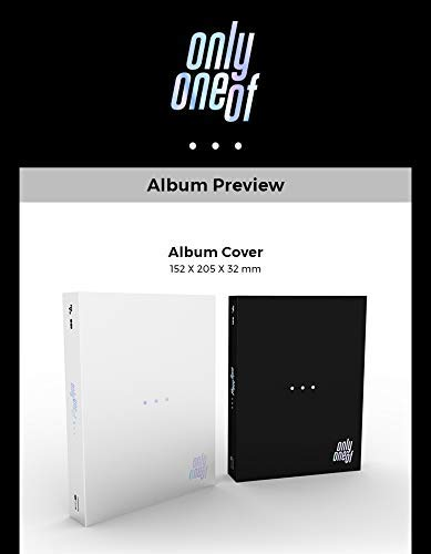 RSVP, 8D Creative OnlyOneOf - dot Point Jump [Black ver.] (1st Mini Album) CD+60p Photobook+Lyrics+Photocard+Film Card