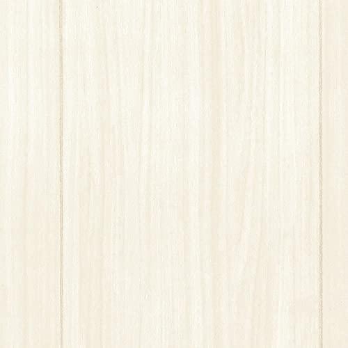 壁紙屋本舗 クッションフロア 床 シート 木目 白 20m 1ロール単位 巾91cm ワイドプラム (アッシュ)