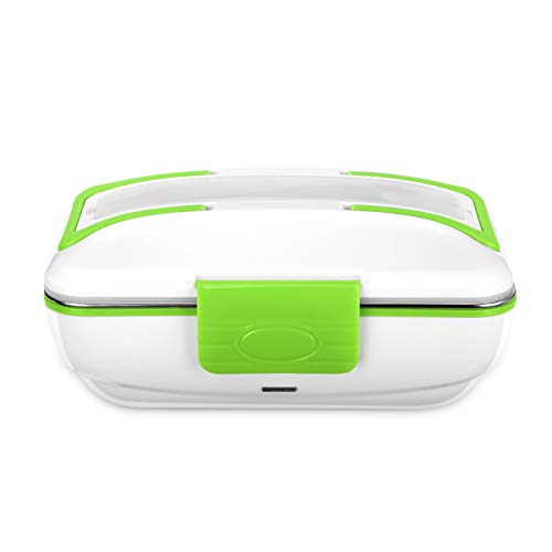 YOHOOLYO Electric Lunch Box Food Heater Portable Food Warmer 110V Home Use with Removable Stainless Steel Container Food Grade Material