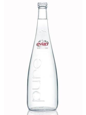 Evian (Evian) Flasche Mineralwasser 750ml Flasche X12