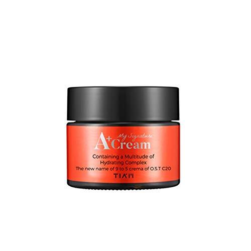 Tyro Korean Cosmetics TIAM My Signature A + Cream 50 ml Vitamin C Face Cream Facial Serum Scar Acne Blackhead Remover Shrink Pores