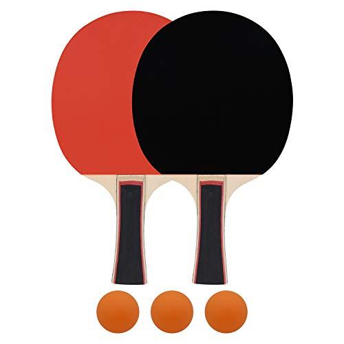 PURATEN Set de Tenis de Mesa Juego al Aire Libre Fitness Tenis de Mesa Entrenador de Tenis de Mesa para Entrenamiento el/ástico Deportes Ocio Tipo Sucked