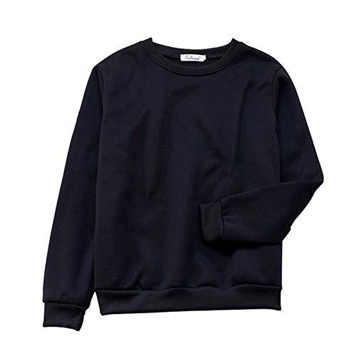U/A Suéter Otoño e Invierno Multicolor Suelto Fleece Corto Crop Top
