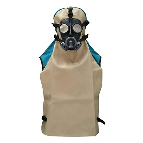 Lordsworld - Sanders Accesorios Y - M03 casquillo aireado flácida Con Semi-máscara de goma ajustable - Cristal corrugado tubo - Filtro E Regulador de Flujo