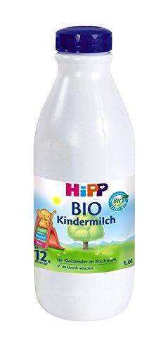 Hipp Bio kindermelk klaar om te drinken - vanaf de 12e maand, 6-pack (6 x 1 liter)
