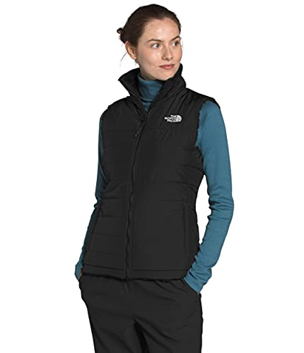 The North Face Women s Mossbud Insulated Reversible Vest, TNF Black, L