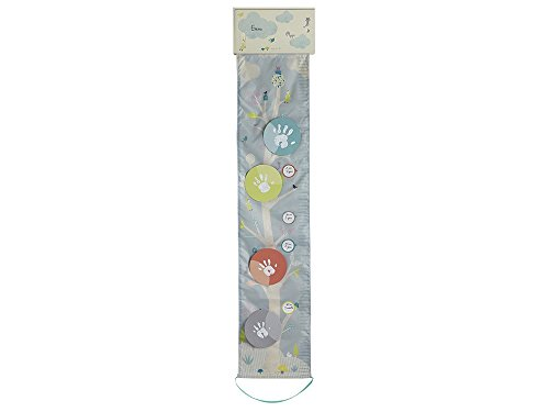 Grille de mesure en tissus Baby Art 3601098000 One to Tree, multicolore.
