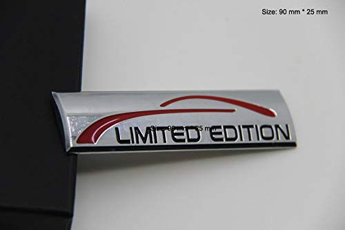 Limited Edition Emblem Badge auto Aufkleber Abzeichen 3D Abzeichen car Sticker Chrom
