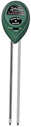 XXT Taza de instrumentación de medición de Suelo, probador de medidor de Humedad de Suelo 3 en 1, Kit de Metro de pH del Suelo para Humedad, luz y pH