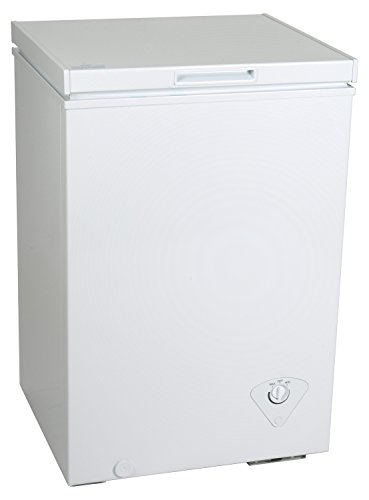 Koolatron KTCF99 3.5 cu. ft. Chest Freezer, White