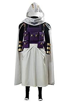 Tamaki Amajiki Outfit Cosplay Costume Battle Suit White