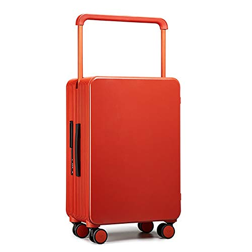 Maleta de Viaje 24 pulgadas caja de la carretilla hombres y mujeres maleta de equipaje anchas Maleta Trolley Contraseña caja de la rueda de silencio universal 3 colores opcionales Caso de Equipaje