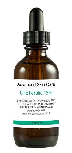 15% Vitamin CE serum (Compare to Leading Skin CE Serum) with Ferulic Acid, Skin Brightening, Collagen boosting, fights hyperpigmentation, boosts collagen, fades dark spots (2 oz)