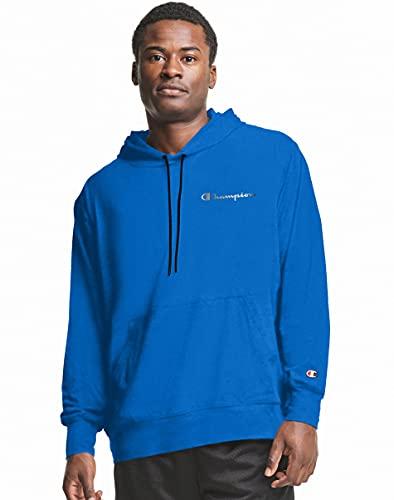 Champion Men's City Sport Hoodie, Bozzetto Blue, XX- Large