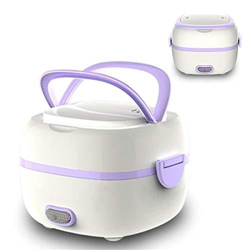 DIOI rijstkoker, rijstkoker, mini rijstkoker, draagbare levensmiddelverwarming, stoomper, warmhouden, lunchbox, multifunctionele elektrische lunchbox