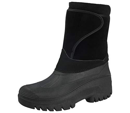 Groundwork Mens Ladies Unisex Black Horse Riding Yard Water Resistant Stable Walking Rain Snow...