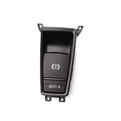 ZHENGYI Aparcamiento eléctrico para automóvil Botón de Interruptor de Freno de Mano Ajuste para BMW E70 E71 X5 X6 2008 2009 2010 2012 2012 2012 2013 2013