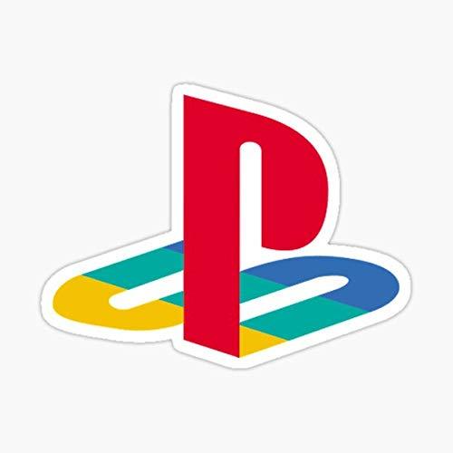 Playstation Logo Sticker Peel and Stick Waterproof Sticker