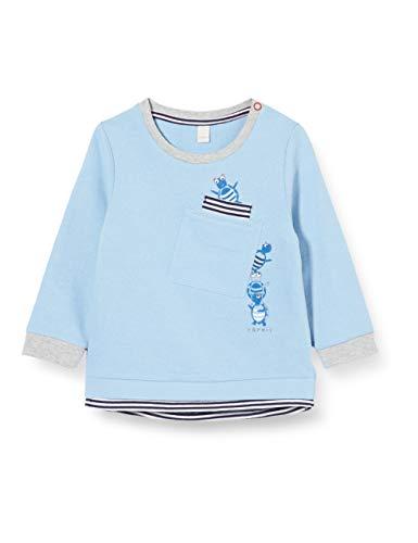 ESPRIT KIDS Baby-Jungen RQ1503202 Sweatshirt, Blau (Light Blue 404), (Herstellergröße: 68)
