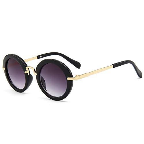 TYJYY Sunglasses Enfants Lunettes De Soleil Garçons Marque Designer Mode Lunettes De Soleil Rondes pour FillesLunettes Bébé Lunettes Enfant Rétro Nuances Uv400