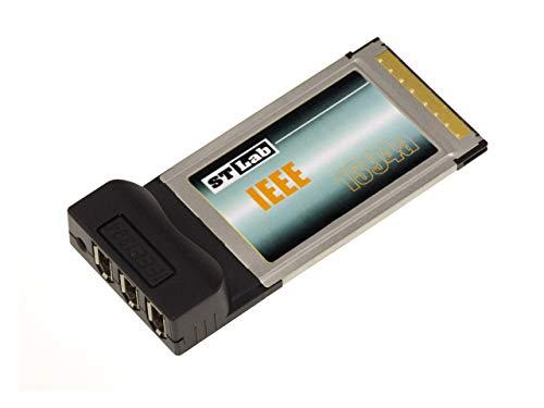 Kalea Informatique - Tarjeta PCMCIA/CARDBUS – 3 puertos FireWire 400 Ieee1394a – Conectores de 6 puntos