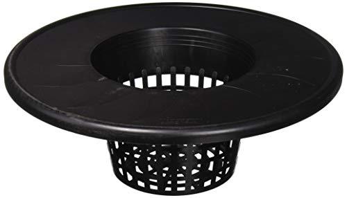 Viagrow V6ML 6' Net Pot - Black Single Lid