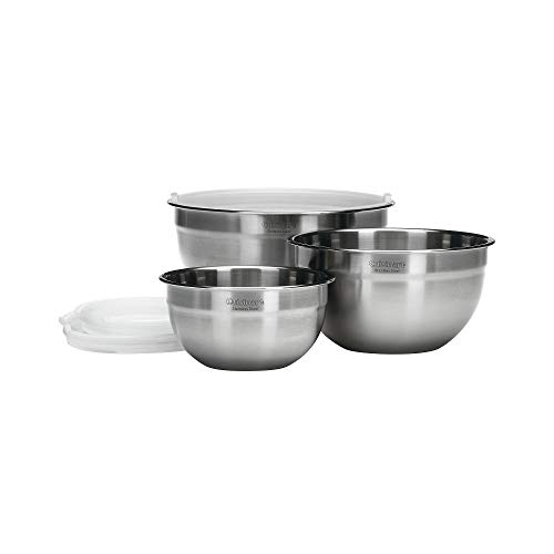 Cuisinart Chef's Classic Mixing Bowls, 5 quart, Stainless Steel