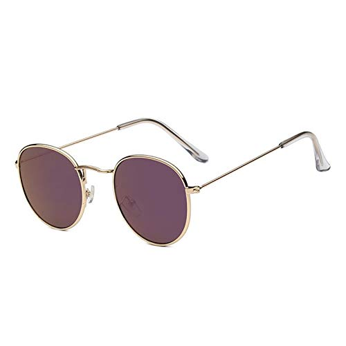 Burenqi@ Zonnebrillen Dames Vintage Merk Designer Metaal Goedkoop Zonnebril Voor Dames Hoge Kwaliteit Bril Retro Small Circle Eyewear