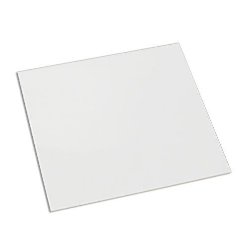 Signstek stampante 3D MK2 MK3 riscaldato letto in vetro borosilicato piastra pannello 213 * 200 * 3 mm