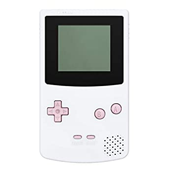 eXtremeRate GBC Replacement Full Set Buttons for Gameboy Color - Handheld Game Console NOT Included  Cherry Blossoms Pink