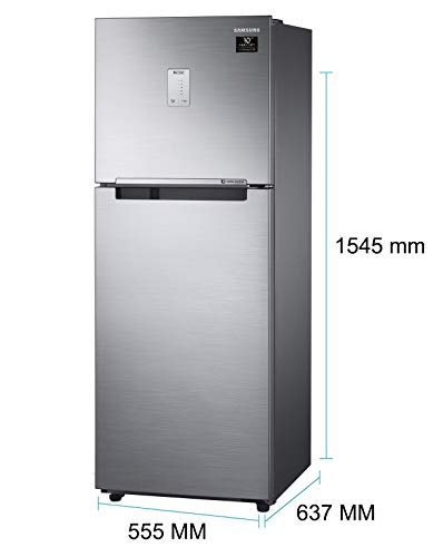 Samsung 253 L 3 Star with Inverter Double Door Refrigerator (RT28A3453S8/HL, Elegant Inox) 4