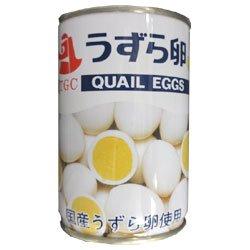 天狗缶詰 うずら卵 水煮 国産 JAS 7号缶 150g缶×24個入×(2ケース)