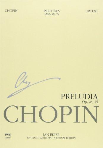 ショパン : 前奏曲集 Op.28, 45/エキエル編: ミニチュア版/ポーランド音楽出版社/ピアノソロ