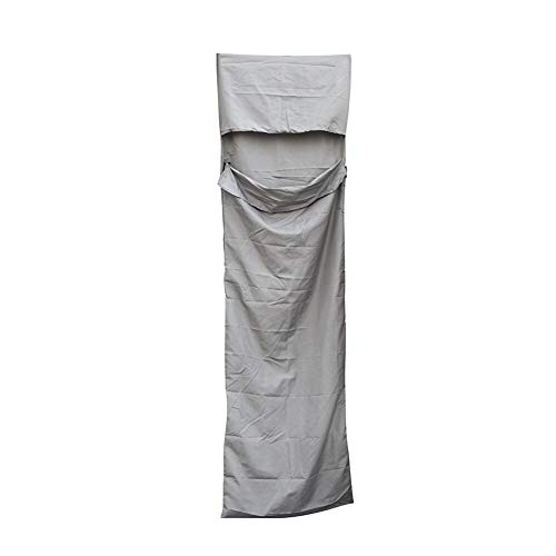 Wuhan Ultra-Light Einzel-Polyester-Rohseide gesunder Schlafsack tragbares Camping Reiseschlafsack Blau Ultraleichter und Ultrakompakter (Color : Gray)