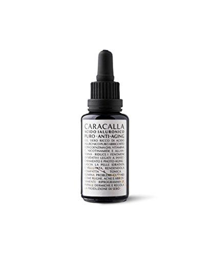 CARACALLA Luxury Edition – Siero Acido Ialuronico Puro – Anti Età, Antirughe e Antimacchie - Glicerina Vegetale, Acido Ialuronico, Vitamina E, Vitamina C –...