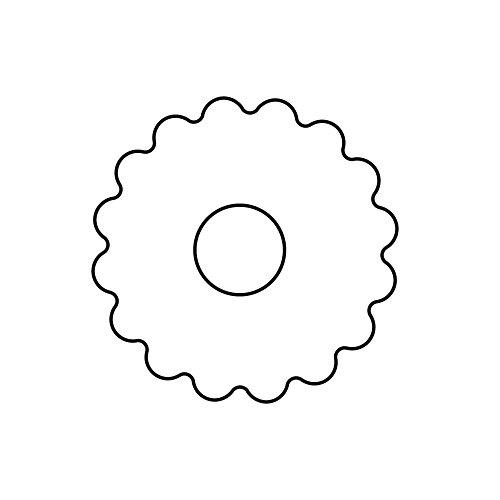 WMF Kaiser Linzer Emporte-pièce en Forme de cœur avec Trou de 5 cm de Haut de Gamme pour Une Prise en Main Facile et précise