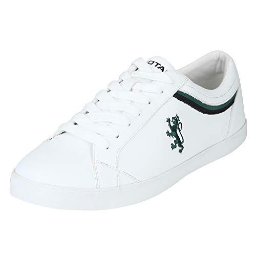 Red Tape Men Rte1735 White Sneakers-10 UK (44 EU) (RTE1735-10)