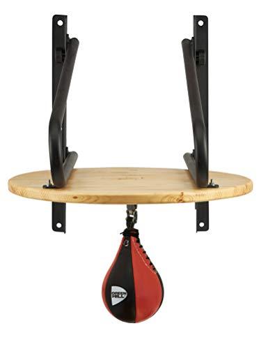 GREEN HILL Piattaforma Professionale Club Regolabile per Pera Veloce Boxe, Supporto peretta Pugilato, Staffa Speed Ball Boxing (PERETTA ESCLUSA, Piattaforma Sola (TASSELLI Metallici Base Inclusi))