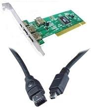 EX-Pro DV iLink Firewire IEEE1394 editar Kit, incluye tarjeta de edición PCI DV, plus Cable para conexión a Sony cámara con salida DV para editar vídeo en tu PC. Instalación fácil [apto para Canon, Hitachi, JVC, Panasonic, Samsung, Sanyo, Sharp, Sony de vídeo y más.. ]