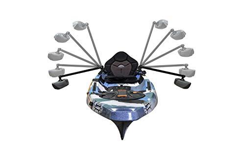 YakGear Kayak & Canoe Outriggers (Generation 2), One Size