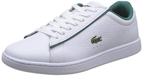 Lacoste Carnaby EVO 120 2 SFA, Zapatillas Mujer, Color Blanco, 39.5 EU